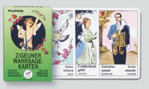 Piatnik Aufschlagkarten Zigeuner (mult.), SF 19011