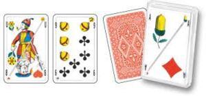 AGM Combi-Jass mit deutschschweizer und Piquetsymbolen, Polybox 62511130