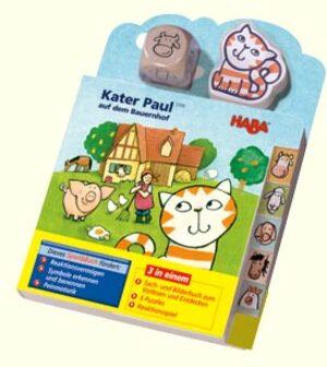 HABA Kater Paul auf dem Bauernhof (d) ** 5306