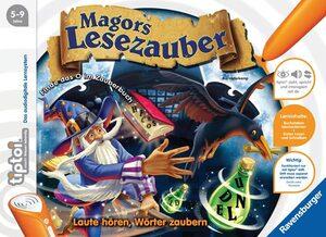 Ravensburger Tiptoi Magors Lesezauber, d 5-9 Jahre, 1-4 Spieler, Stift nicht enthalten Ravensburger;5116