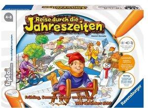 Ravensburger Tiptoi Jahreszeiten, d 4-8 Jahre, 1-4 Spieler, Stift nicht enthalten 5147