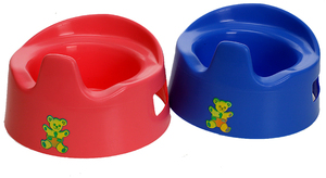 Heless Nachttopf 15 cm, rot/blau assortiert, Kunststoff 55510802