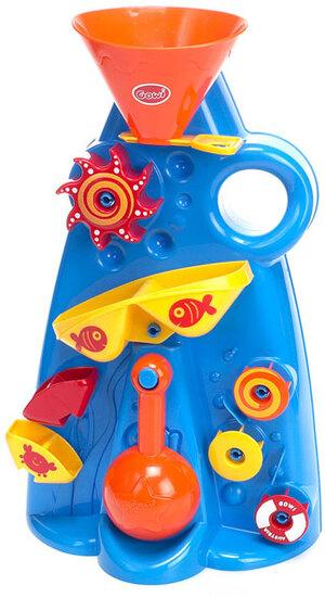 Gowi Sand-und Wassermühle mit Rundschaufel, 43x25 cm, viele Spielmöglichkeiten 71160653