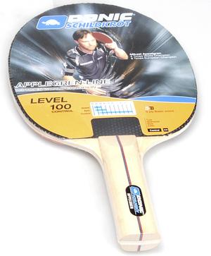 Speedminton Tischtennis Schläger 100 mit Noppen, ohne Schwamm, einfacher Schläger 74420100