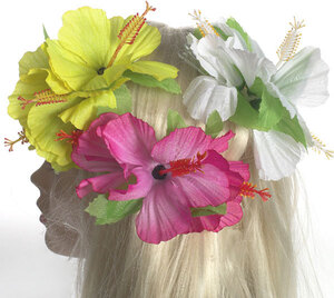 Boland Haarspange Blume sortiert, eine wird geliefert L: 12 cm 82550415