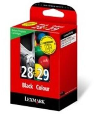 Lexmark Tinte Kombipack Nr.28+Nr.29 18C1520E