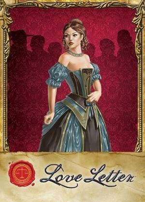 Pegasus Spiele Love Letter, d ab 8 Jahren, 2-4 Spieler, Kartenspiel, 20 Min. 62618210