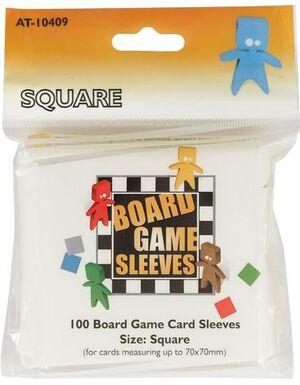 Arcane Tinmen Kartenspiel-Hülle, quadratisch (100 Stück, 69 x 69 mm) ART10409