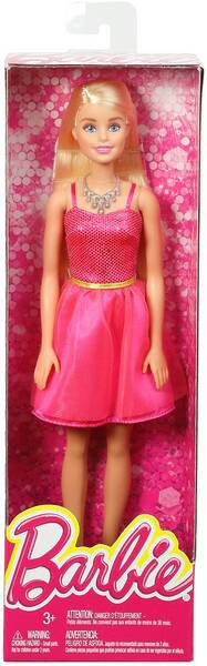 Barbie im pinken Glitzerkleid DGX82