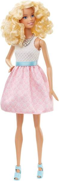 Barbie #2 - mit pinkem Glockenkleid (6) DGY57