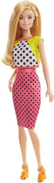 Barbie #7 - im Tupfen-Kleid (6) DGY62