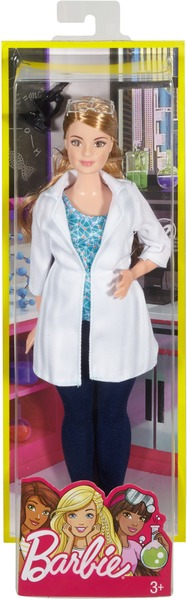 Barbie Naturwissenschaftlerin DVF60