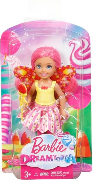 Barbie Dreamtopia Bonbon-Königreich Chelsea-Fee (pink) DVM90