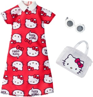 Barbie Fashions Komplettes Outfit Hello Kitty #1 FKR67