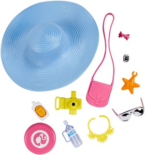 Barbie Fashions Accessoires - Strandausflug Set FKR90
