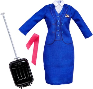 Barbie Fashions Berufsoutfit: Flight Attendant FKT13