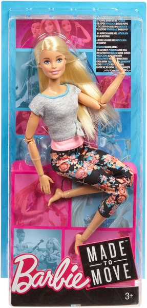 Barbie BRB M2M Puppe blond FTG81A1
