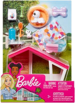 Barbie Möbel-Spielset Hundehütte FXG34