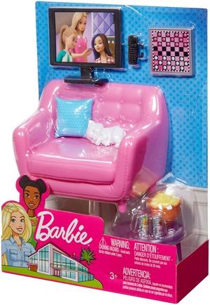 Barbie Möbel-Spielset Wohnzimmer FXG36