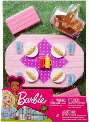 Barbie Möbel-Spielset Outdoor Picknicktisch FXG40