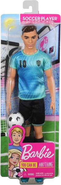 Barbie Ken Fussballspieler Barbie und Ken Berufe, Puppe und Fussball, ab 3+ 57019602
