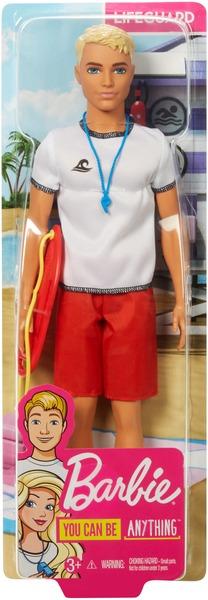 Barbie Ken Rettungsschwimmer Barbie und Ken Berufe, Puppe und Boje, ab 3+ 57019604
