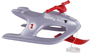 BIG Big Bobby Bob silber 91x52x36cm 56924
