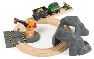 BRIO Bahn Set Goldminen 13 Teile, Holz, Kunststoff, 340x250 mm 40233049