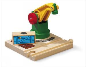 BRIO Kleiner Magnetkran 2 Teile, Holz, Kunststoff, 125x105x90 mm 40233245