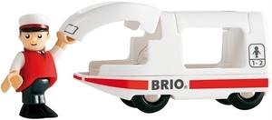 BRIO Reisezug mit Fahrer 2-teilig, Kunststoff, 10 cm, ab 3 Jahren, Brio 40233508