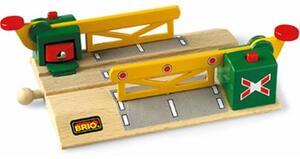 BRIO Magnetische Kreuzung Holz, Kunststoff, 144 mm, passend zu allen Briobahnen 40233750