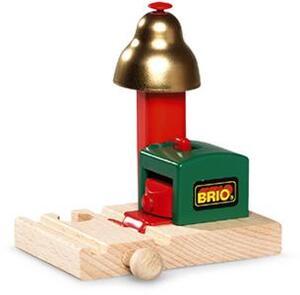 BRIO Magnetisches Glockensignal 54 mm, Holz, Kunststoff, benötigt keine Batterien 40233754
