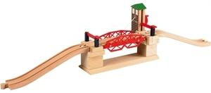 BRIO Hebebrücke Brio 3-teilig, 10x15x66 cm, Holz, Kunststoff, ab 3 Jahren 40233757