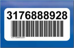 Brother PTOUCH Barcode-Etiketten 102x51mm BRDK11240