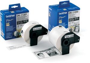 Brother PTOUCH Endlos-Etiketten 12mmx30.48m DK22214