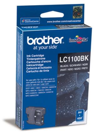 Brother Tintenpatrone schwarz LC-1100BK