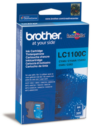 Brother Tintenpatrone cyan LC-1100C
