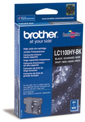 Brother Tintenpatrone HY schwarz LC-1100HYBK