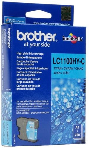 Brother Tintenpatrone HY cyan LC-1100HYC