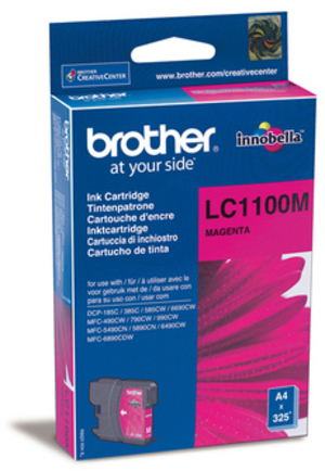 Brother Tintenpatrone magenta LC-1100M