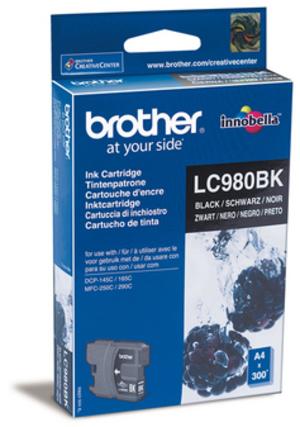 Brother Tinte LC980BK schwarz 300S DCP145C -165C LC-980BK