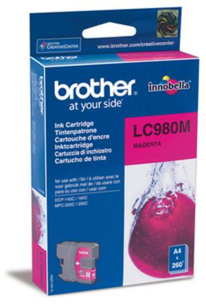 Brother Tintenpatrone magenta LC-980M