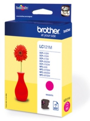 Brother Ink LC-121M, magenta LC121M