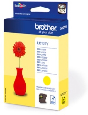 Brother Ink LC-121Y, yellow LC121Y
