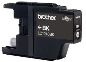 Brother LC-1240 Tintenpatrone schwarz hohe Kapazität 2x600 Seiten 1-pack LC-1240BKBP2