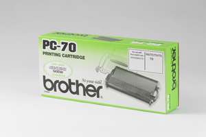 Brother Cassette, black PC70