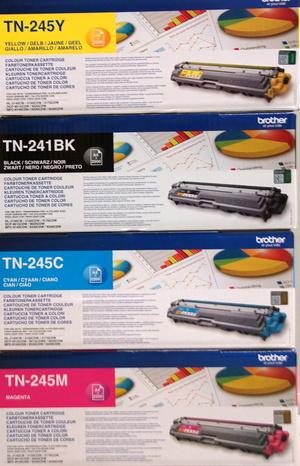 Brother Toner-Set bestehend aus je 1x TN-241BK, TN-245C, TN-245M, TN-245Y