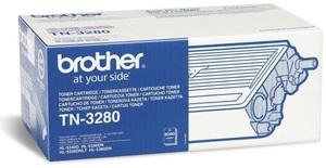 Brother Toner Cart. TN-3280 für HL-5340D/5350DN/DNLT/DN2LT 5370DW/5380DN/5340DL MFC-8880DN/MFC-8890DW/ TN3280