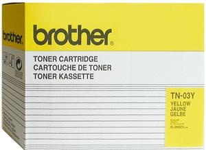 TN-03Y BROTHER Toner gelb f. HL-2600CN TN03Y