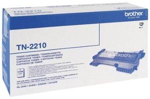 Brother Toner TN-2210 für HL-2240/HL-2240D/HL-2250DN/ MFC-7360N/Fax-2840/Fax-2845/ Fax-2940 TN2210A1